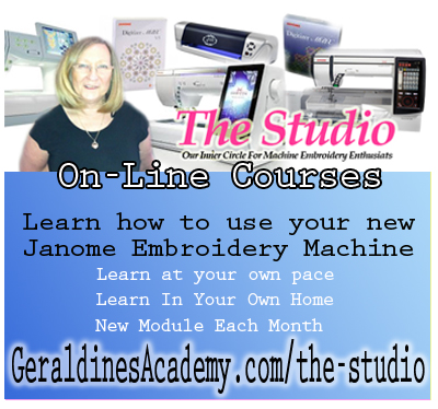Janome Machine Embroidery - Tutorials Courses, Lessons